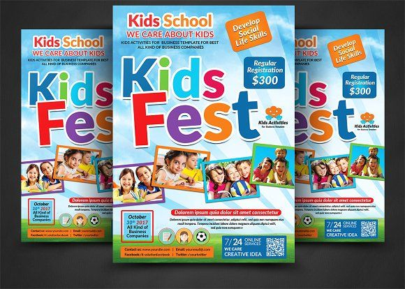 19 best flyer images on Pinterest Flyer template, Education and - summer camp flyer template