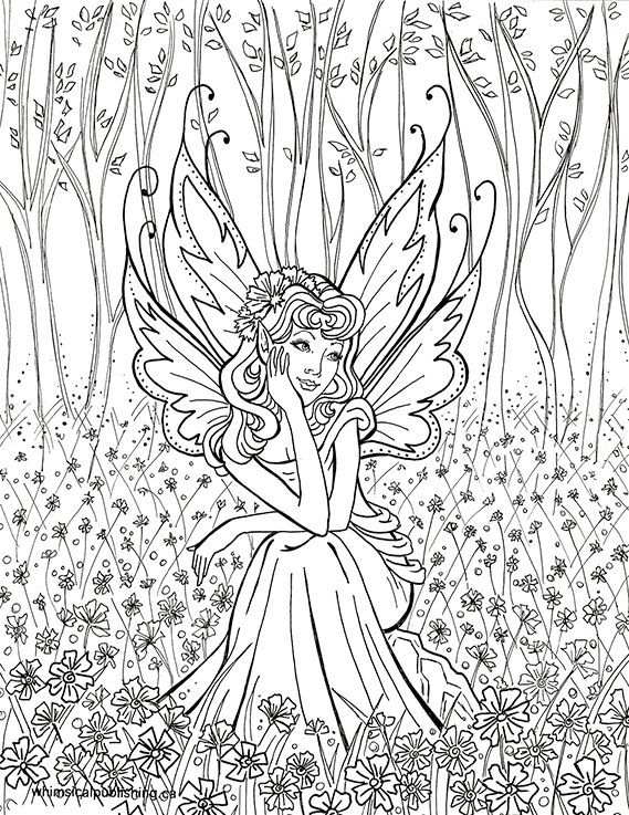 915 best Coloring Pages-Fantasy images on Pinterest