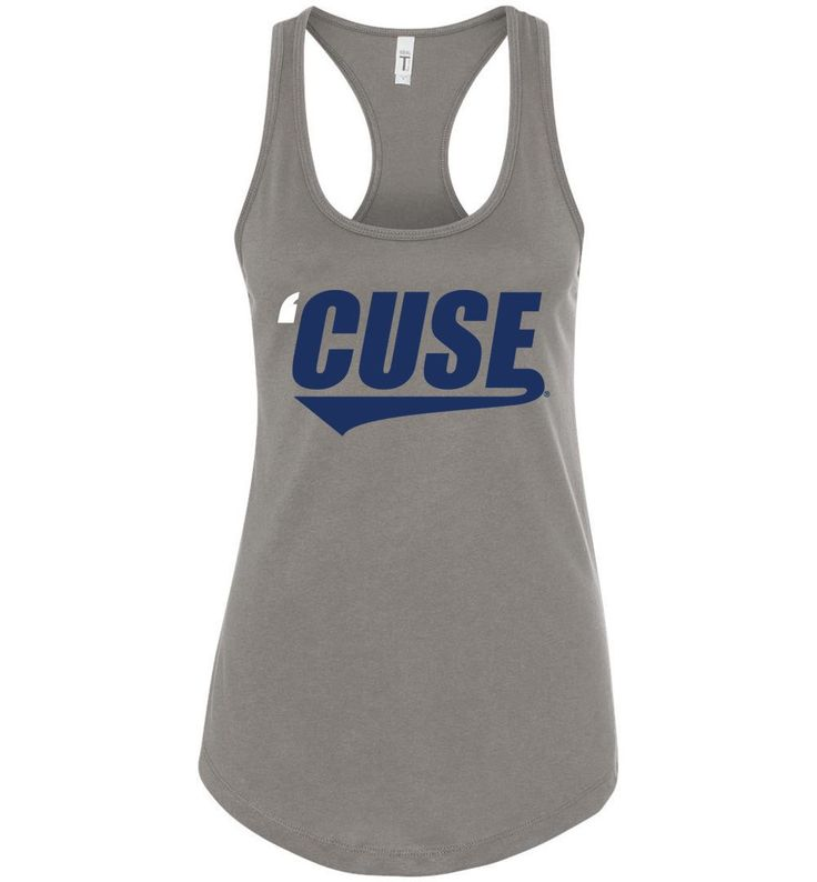 NCAA- Syracuse Orange Women's SU 'Cuse Racerback Tank