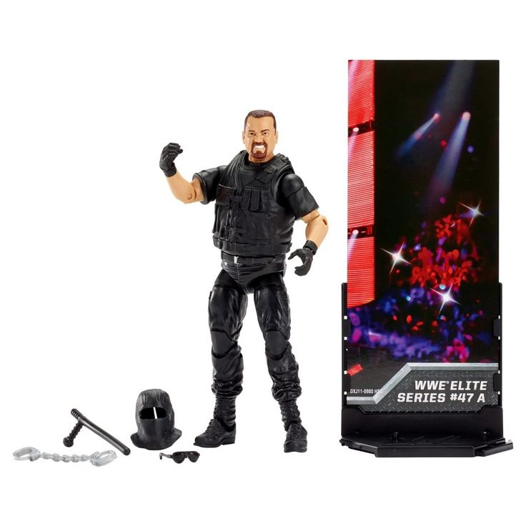 Wwe Elite Collection Big Boss Man Action Figure - Series # 47A