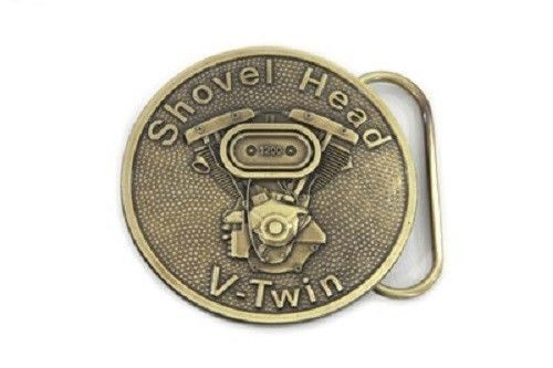 Shovelhead Harley Apparel Belt Buckle Pewter collector gift #Vtwin #BeltBuckle