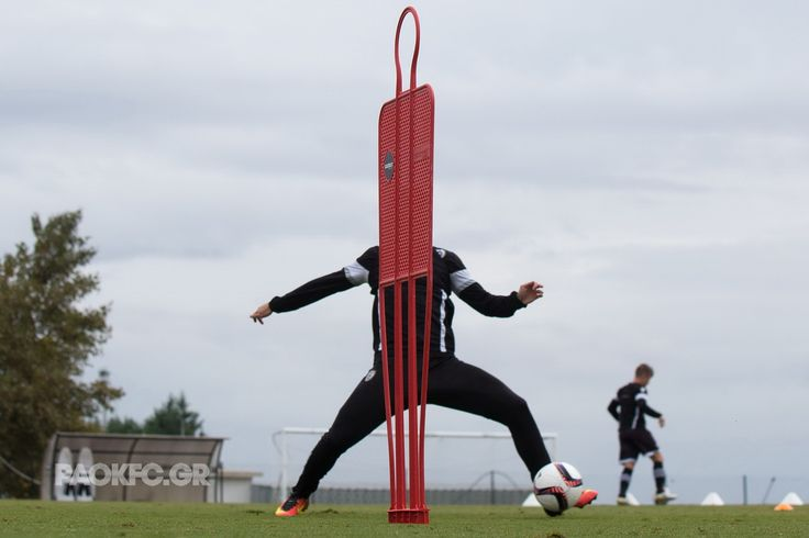 #training #barrier #PAOK #football #funny