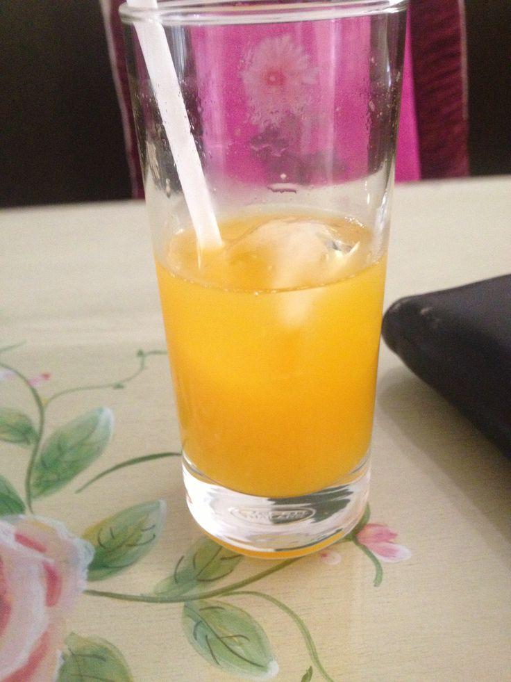 Passionfruit juice at Ma Maison