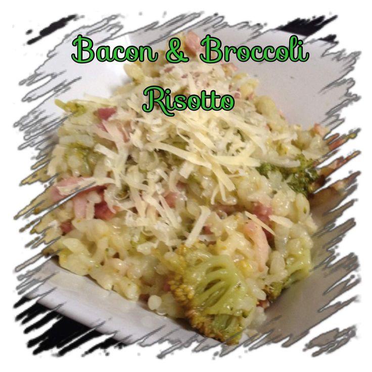 Recipe Bacon & Broccoli Risotto by laurenmckinnon - Recipe of category Pasta & rice dishes