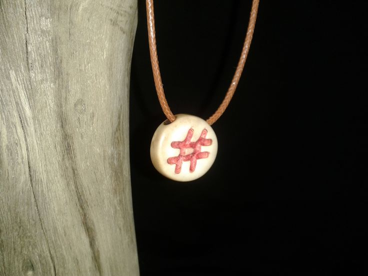 #Moriche Palm Fruit Adjustable cord necklace