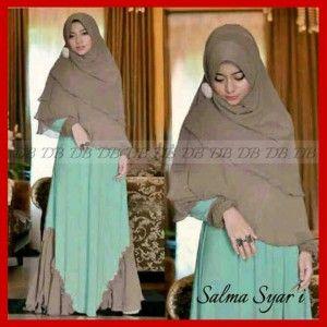 Baju Busana Modern Gamis Syari KM209 Salma