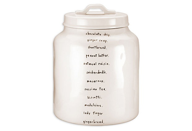 Chocolate Chip Cookie Jar. Magenta (Rae Dunn)