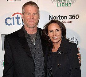 Favre married Deanna Tynes on July 14, 1996. Together, they have two daughters, Brittany (born 1989) and Breleigh (born 1999).