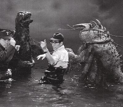 Godzilla gets a little help to beat up on Ebirah