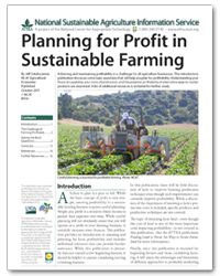 Want to know more about assessing and planning for farm profitability? ATTRA has a pub for that! #ATTRA #NCAT