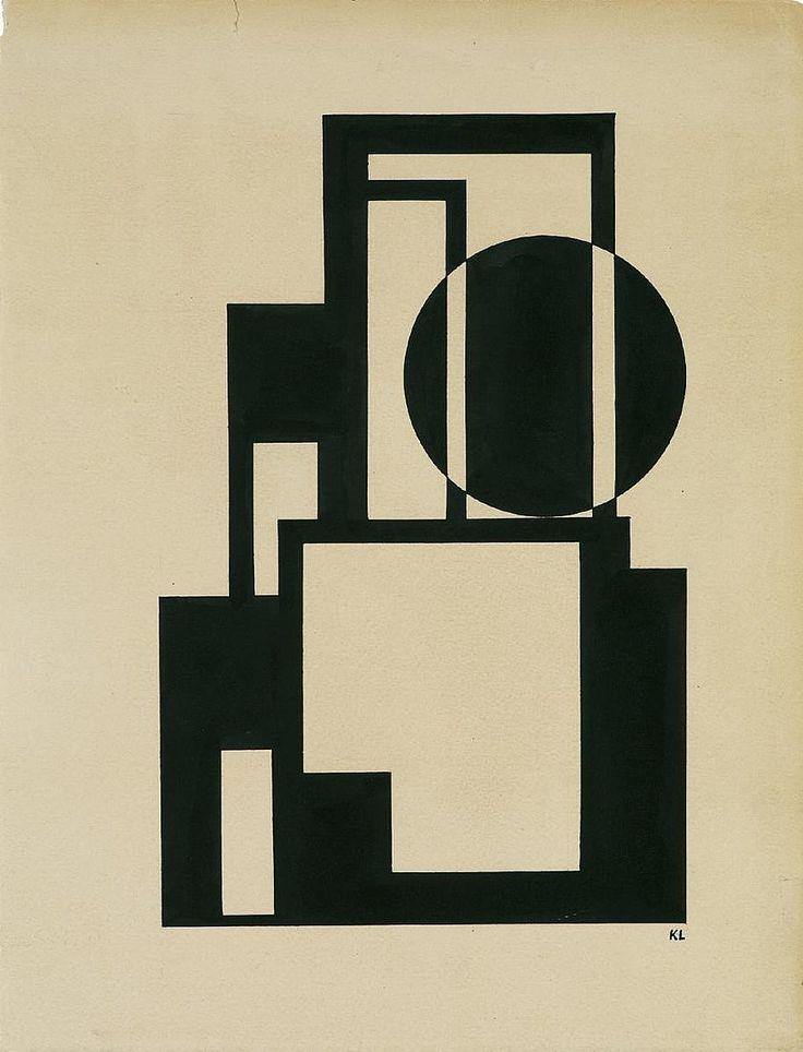 Nur in rosa: Bildarchitektur - Lajos Kassák (1887 - 1967)