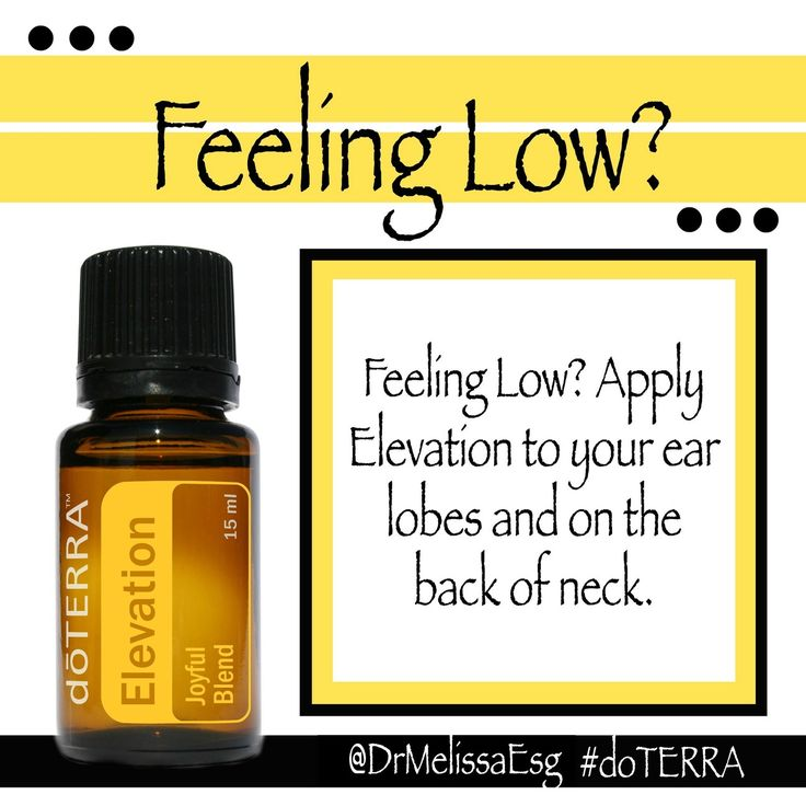 Feeling low? Use doTERRA's Elevation Essential Oil. http://www.mydoterra.com/lisacortez/