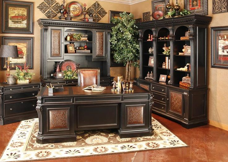 classic home office design. Hemispheres Furniture Store Telluride Executive Home Office By Hooker Classic Design R