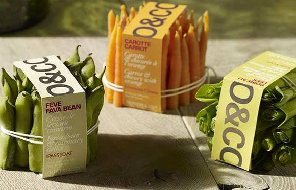 Olivier & Co produce packaging by chef Giovanni Ciresa, Italy