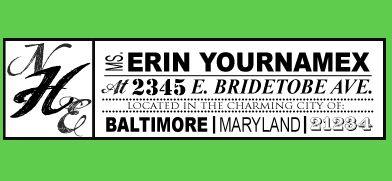 DIY: Custom Return Address Labels   The Budget Savvy Bride