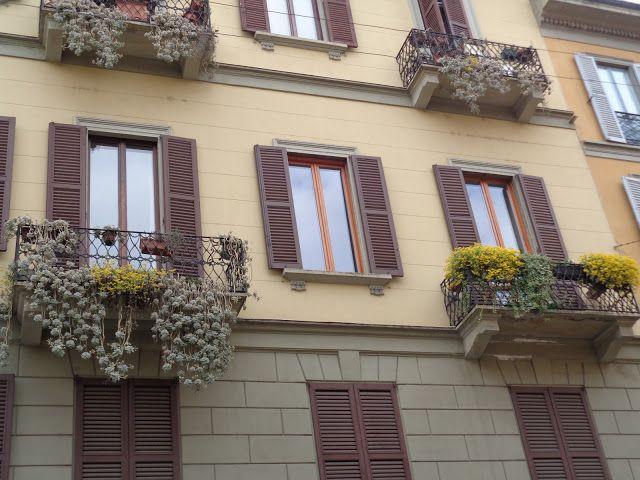 Balconi a Milano  -  Foto-diario di una giardiniera curiosa