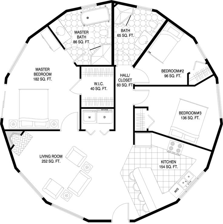 1000 Ideas About Round House Plans On Pinterest Round