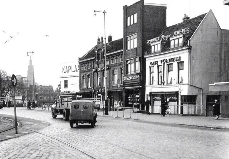 De Koemarkt jaren 40. Schiedam