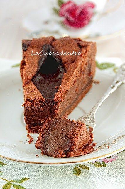 Crostata al cioccolato di Ernst Knam | La Cuoca Dentro