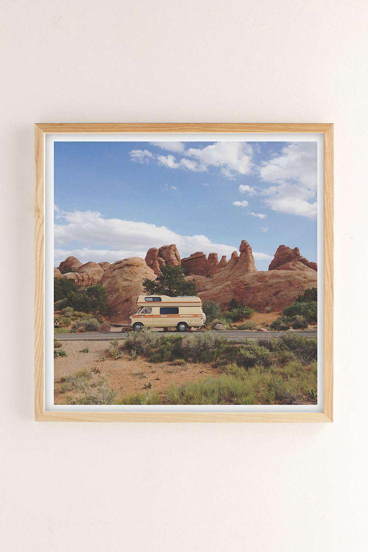 Kevin Russ Rock Camper Art Print