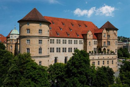 In the heart of Stuttgart: The Old Castle!