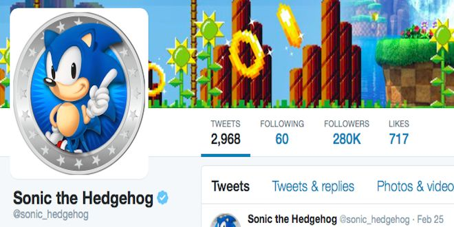 KekRaptor: SEGA Announces New Series Of Tweets From Sonic the Hedgehog Twitter - http://techraptor.net/content/kekraptor-sega-announces-new-series-of-tweets-from-sonic-the-hedgehog-twitter | Editorials, Gaming