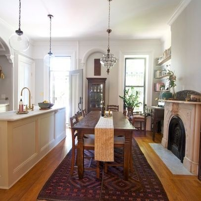 17 best images about brooklyn brownstones on pinterest for Brownstone kitchen ideas