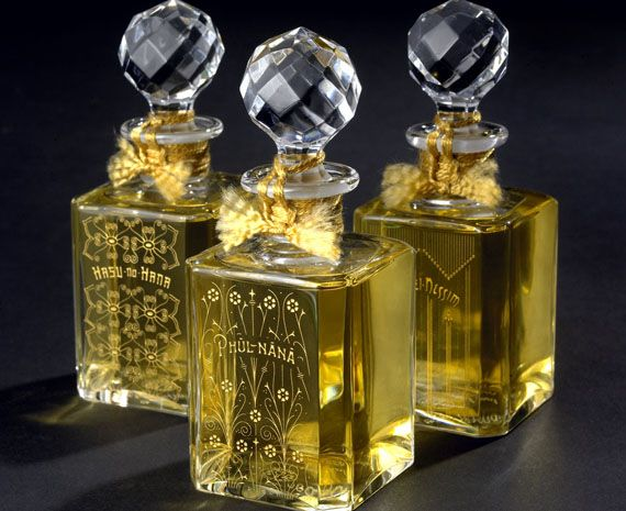 Baccarat Crystal Flacons Exclusively at London Perfume House