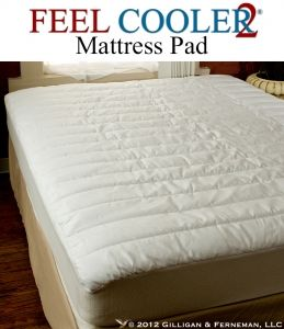 feel cooler 2 cooling mattress pad by feel cooler feel cooler 2 pad has twice