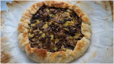 Torta rustica vegan con patate e funghi - Ricette di non solo pasticci