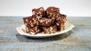 Carla Hall's Rocky Road 5- Minute Fudge Recipe   The Chew - ABC.com