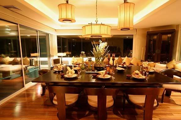 The 9 foot dining table converts to a regulation pool for 9 foot dining room table