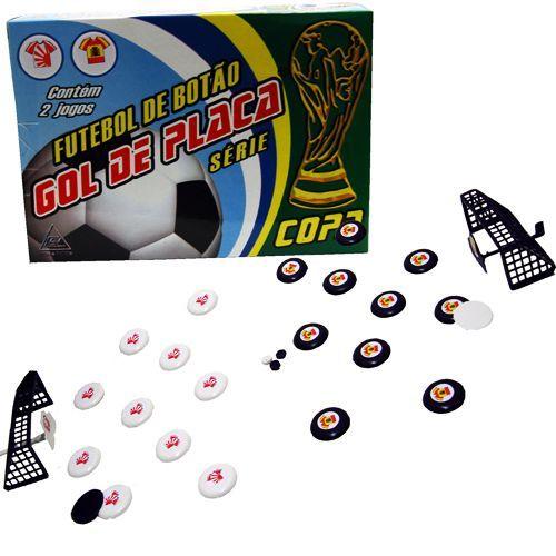 Futebol de Botão Gol de Placa Série com 2 Times