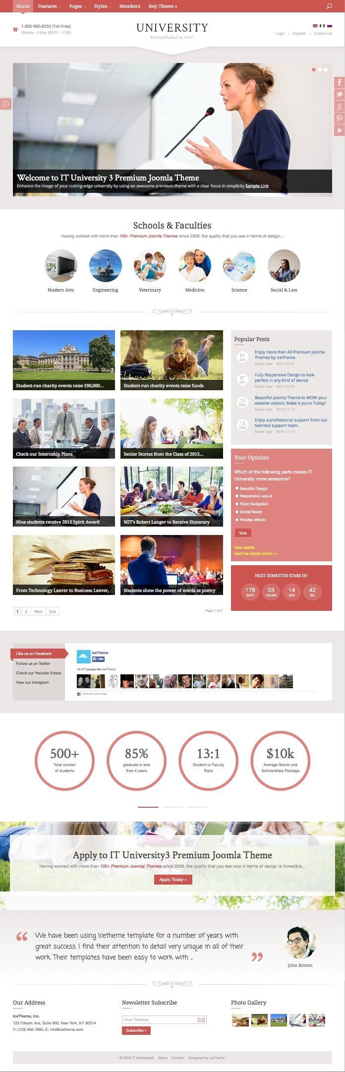 355 besten Premium Joomla Templates Bilder auf Pinterest | Webdesign ...
