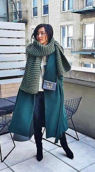 тепло и стильно одеваться зимой