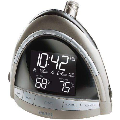 Homedics Ss 5010 Soundspa Premier Am Fm Clock Radio