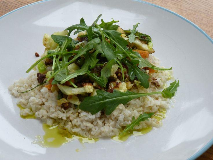 Basmati Rice with CauliflowerStir-fry