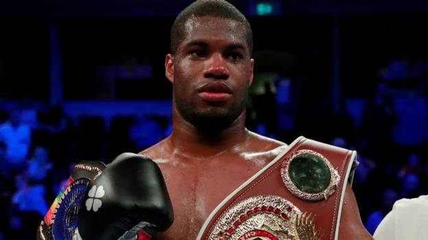Daniel Dubois Stops Ebenezer Tetteh In First Round To Win Commonwealth Title Sport Boxing Commonwealth Dubois
