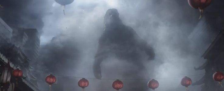 Awesome Godzilla 2014 Trailer Stills
