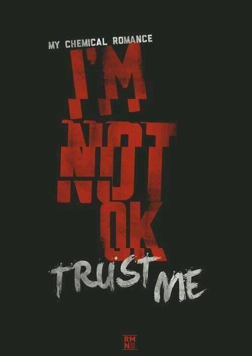 I'm okay now (I'm okay now) but you really need to listen to me because I'm telling you the truth, I mean this, I'm okay (Trust me)