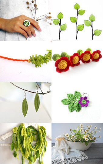 Walking on Spring - Etsy Treasury by Eleni Maragkou  --Pinned with TreasuryPin.com