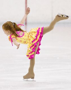 Madison's first skate dress