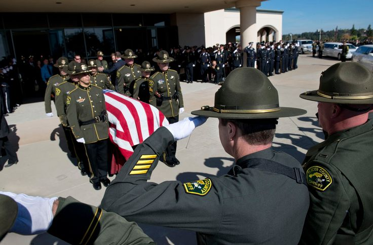 Funeral for Placer County Sheriff's Detective Michael David Davis Jr.
