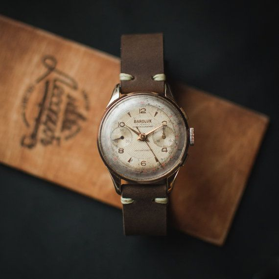 Gents watches, swiss watches, Barolux chronograph watch, swiss made watches, watches for men, old watches, vintage watches