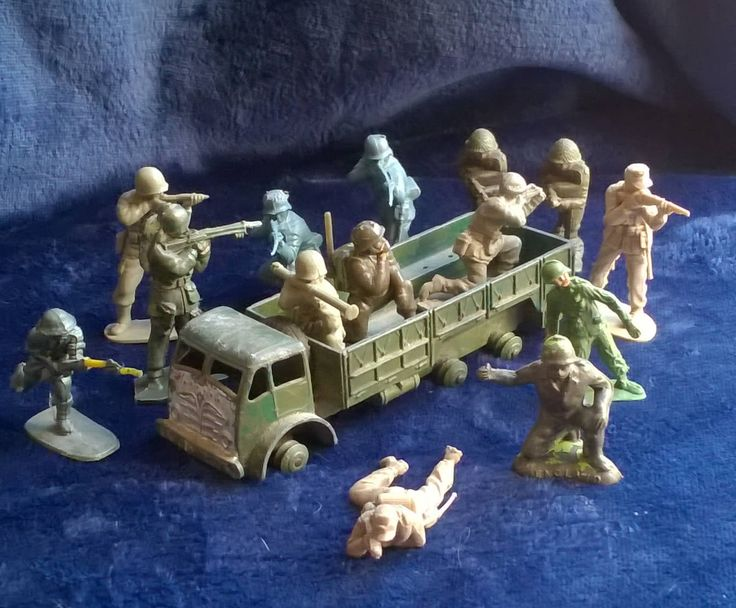Toy Soldiers, Vintage Plastic Soldiers, Army Truck, Dinky Toy,Army, Regiment, Collectibles, Toys and Games,Lone Star, Hilco, Gifts for Him by TillyofBloomsbury on Etsy
