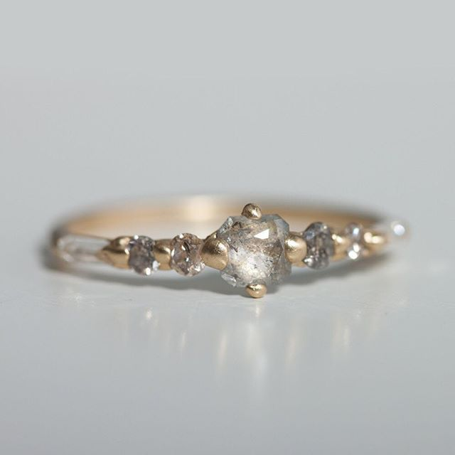 Seeing stars. The Fairy World ring by Polly Wales, one of a kind, only at catbirdnyc.com.