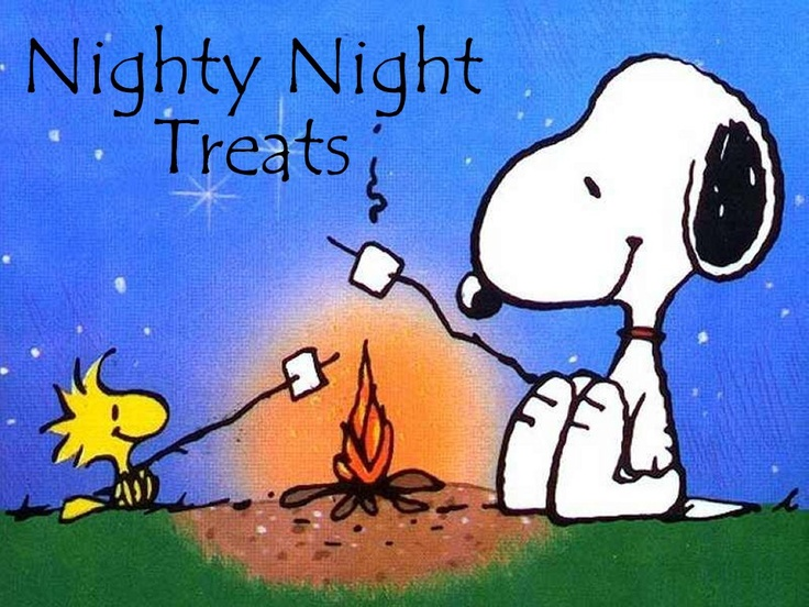 Girls Camp - Nighty Night Treats / Pillow Toppers: Friends, Quotes, Camping, Peanuts Gang, Snoopy And Woodstock, Charliebrown, Campfire, Charlie Brown