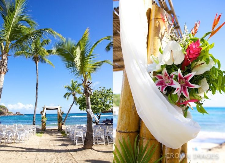 Wedding Photos Bolongo St Thomas Crown Images Ceremony Settings For A Usvi Pinterest Beach Resorts And
