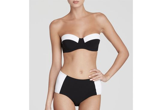 Perfect for Petites_ High-Waisted Bikinis to Sport This Summer - Slideshow | Fashion | PureWow National