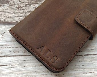 iPhone 7 Wallet Case Leather iPhone 7 case iPhone 8 Leather Case Personalised Gift 3rd Anniversary Gift for Men iPhone 8 Wallet Case